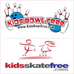 Free bowling and skating summer fun for children